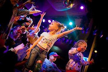 Музыка Happy Birthday и детская дискотека (по желанию)